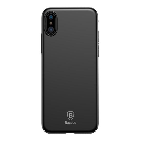 Baseus Thin Case Apple iPhone X WIAPIPHX-ZB01 black