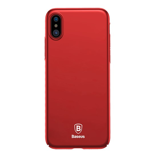 Baseus Thin Case Apple iPhone X WIAPIPHX-ZB09 red