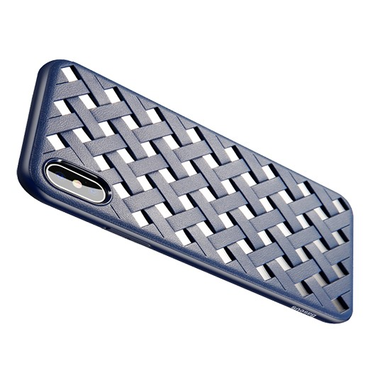 Изображение Baseus Paper-Cut Case Apple iPhone X WIAPIPHX-BG03 blue