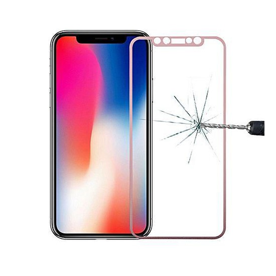 Baseus 0.3mm Full Coverage Curved Rear Protector Apple iPhone XR SGAPIPH61-BM0V Gold