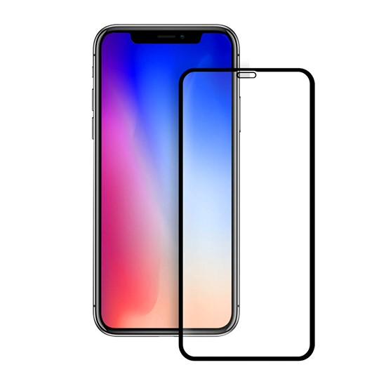 Baseus 0.3mm Full Coverage Curved Rear Protector Apple iPhone XS SGAPIPH58-BM01 Black