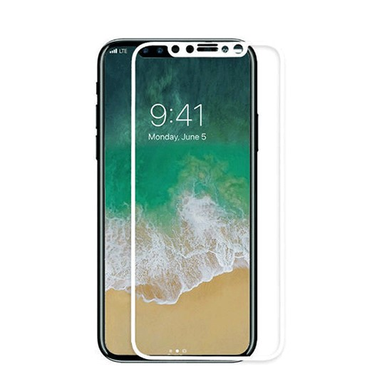 Baseus 0.3mm Full Coverage Curved Rear Protector Apple iPhone XS SGAPIPH58-BM02 White