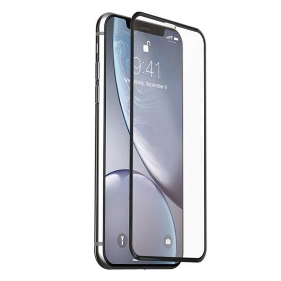 Изображение Baseus 0.3mm Rigid-Edge Curved-Screen Tempered Glass Apple iPhone XR SGAPIPH61-AJG01 Black