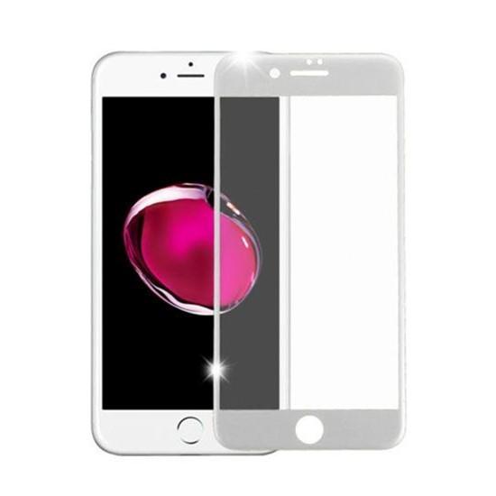 Изображение Baseus 4D Arc Back Glass Film Apple iPhone 8 Plus SGAPIPH8P-4D0S white