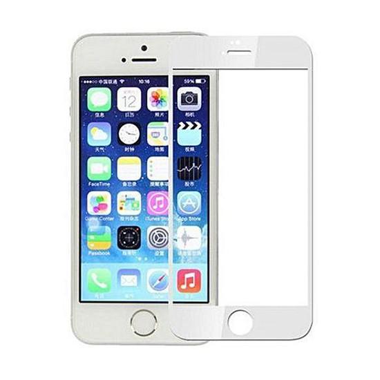 Изображение Glass Pro+ Full Screen Tempered Glass Apple iPhone 5S white