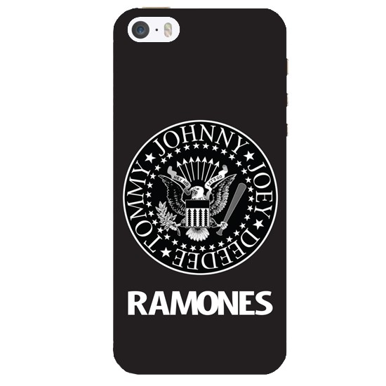 Hoco Colored And Graceful Series Ramones Apple iPhone 5s black