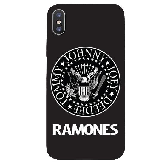 Изображение Hoco Colored And Graceful Series Ramones Apple iPhone X black