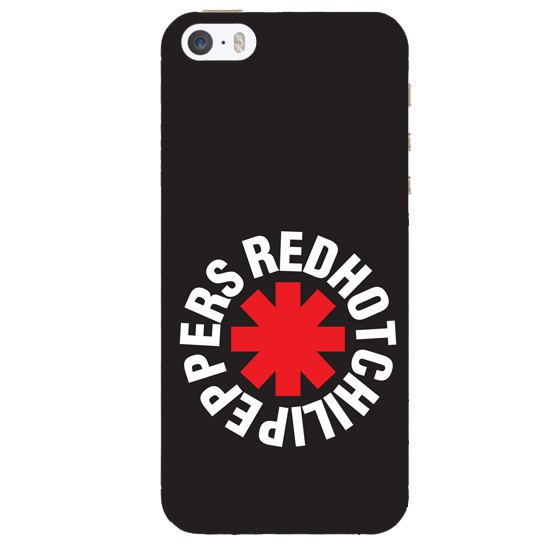 Hoco Colored And Graceful Series Red Hot Chili Pepers Apple iPhone 5s black
