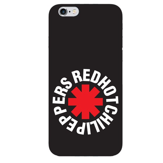 Hoco Colored And Graceful Series Red Hot Chili Pepers Apple iPhone 6/6S black