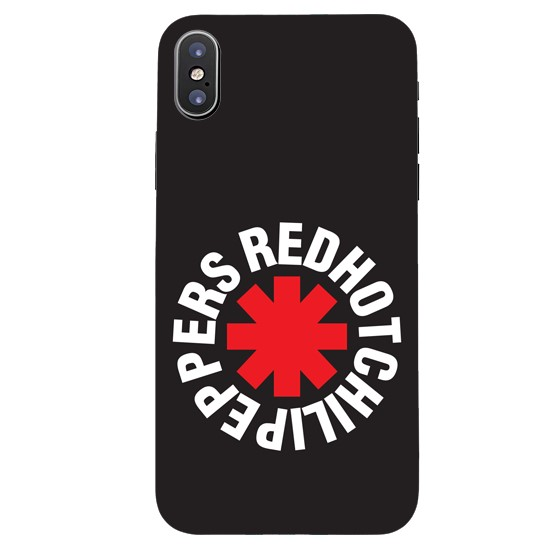 Hoco Colored And Graceful Series Red Hot Chili Pepers Apple iPhone X black