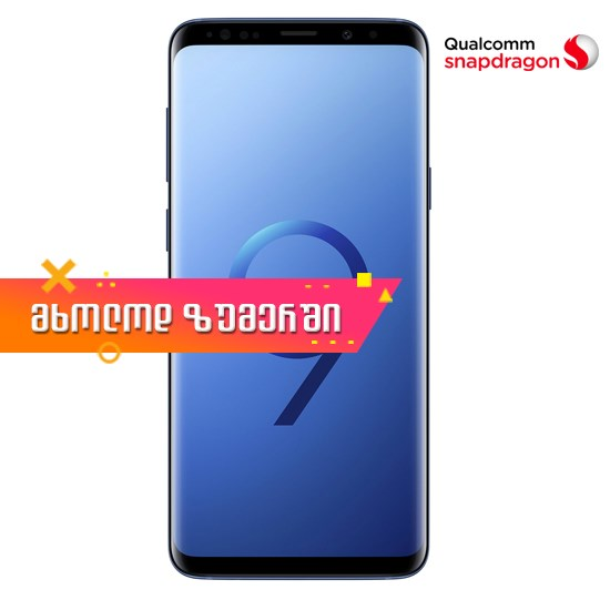 Изображение Samsung Galaxy S9+ Snapdragon Version Dual Sim 6GB RAM 64GB LTE G9650/DS Blue