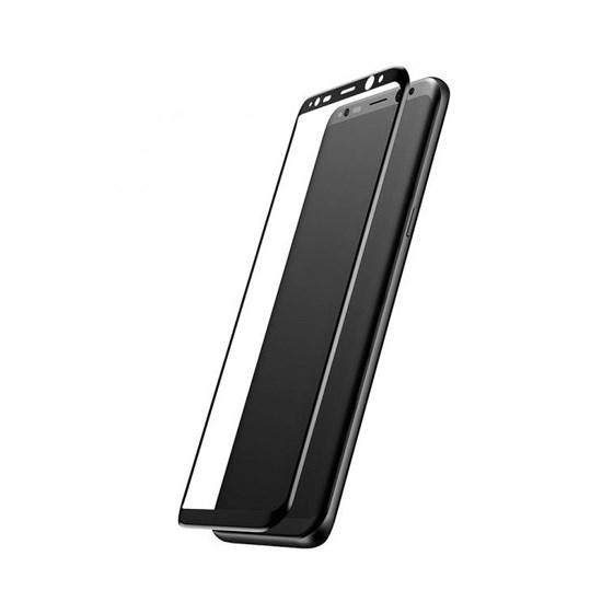 Baseus 3D Arc Tempe Glass Film Samsung Galaxy S8 SGSAS8-3D01 black