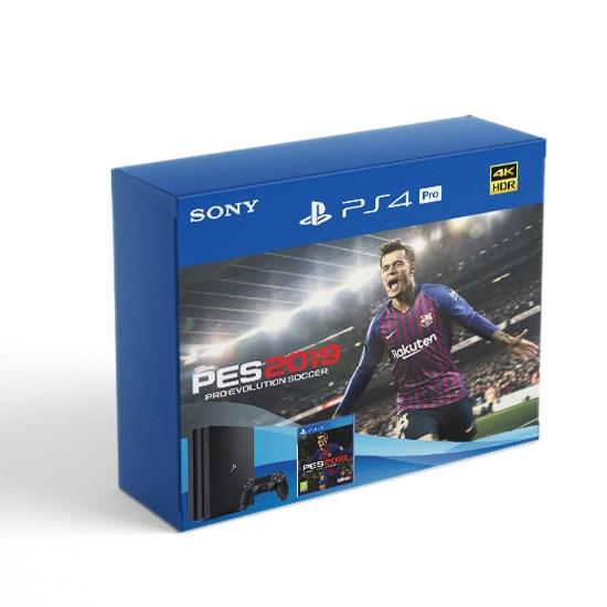 Изображение Sony PlayStation PS4 Pro 1TB Bundle PES 2019