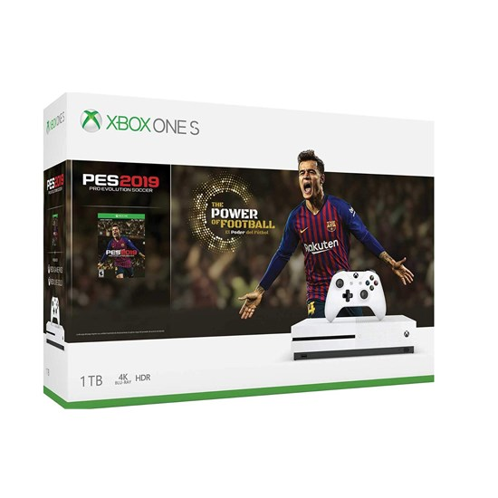 Microsoft Xbox One S 1TB Bundle PES 2019