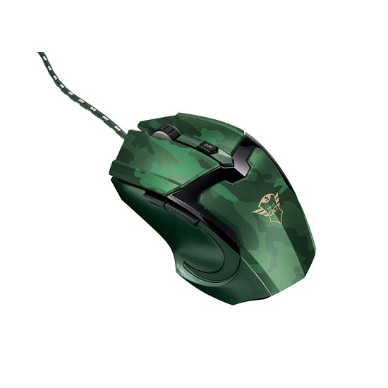 Изображение Trust Mouse GXT101 GAV Gaming jungle camo