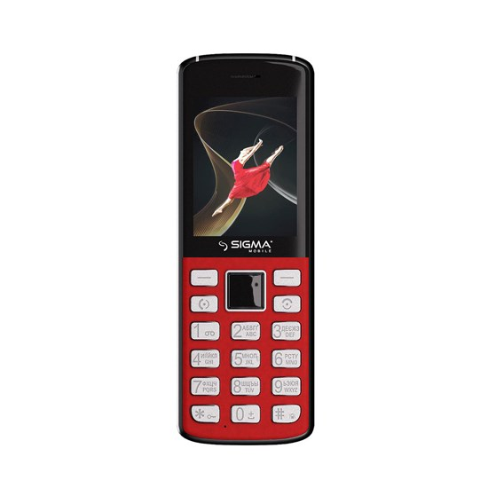 Sigma X-Style 24 Onyx red