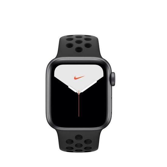 Изображение Apple Watch Series 5 GPS 40mm MX3T2 Nike+ Gray Aluminium Case With Black Nike Sport Band