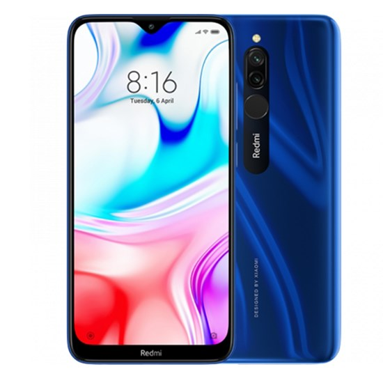 Xiaomi Redmi 8 Global Version 4GB RAM 64GB LTE Blue