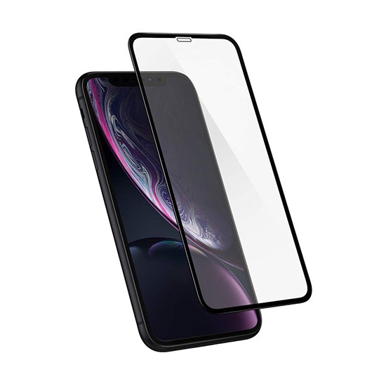 Glass Pro+ Full Screen Tempered Glass Apple iPhone XR red