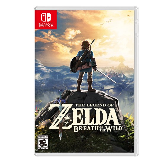 Legend of Zelda Breath of the Wind Game for Nintendo Switch