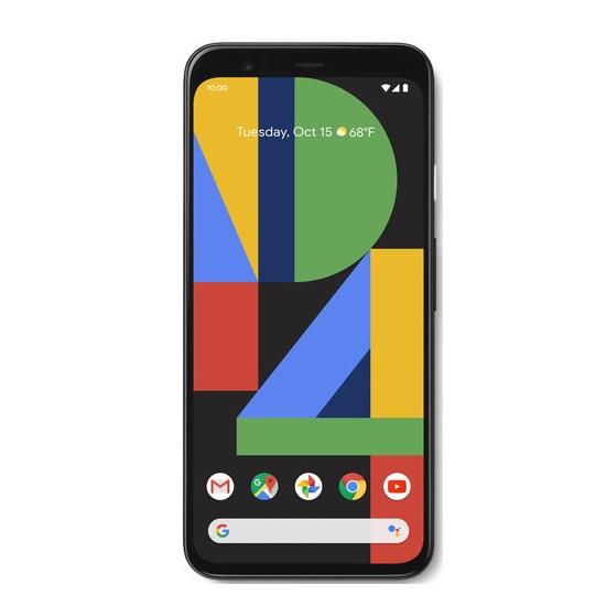 Google Pixel 4 Single sim 6GB RAM 64GB LTE GA01187-US  Just Black