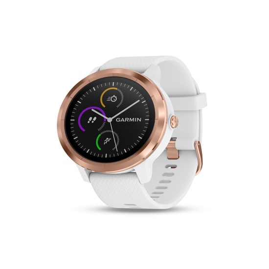 Изображение Garmin Vivoactive 3 white/rose gold