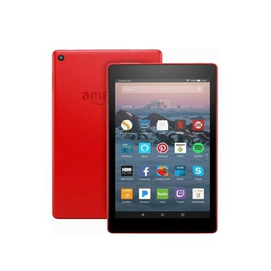 Amazon Fire 8 Tablet 16GB Wi-Fi red