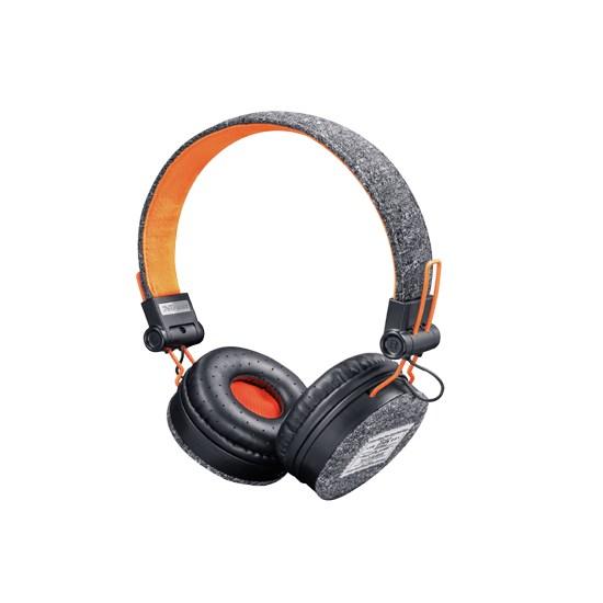 Trust Fyber Headphones black/orange