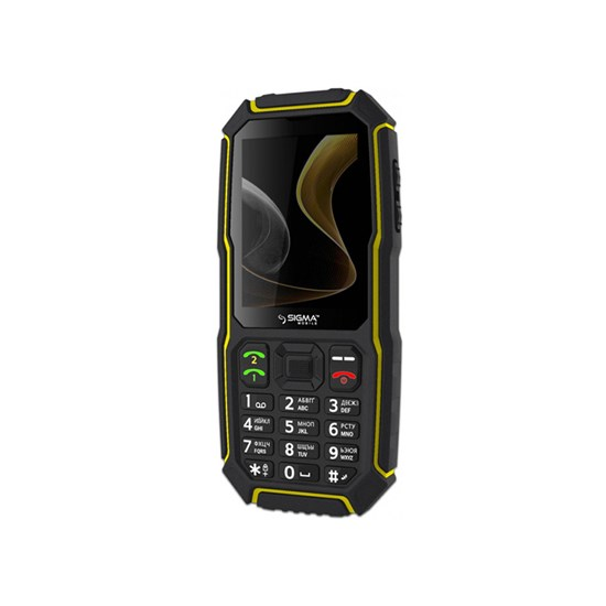 Sigma X-treme ST68 black/yellow