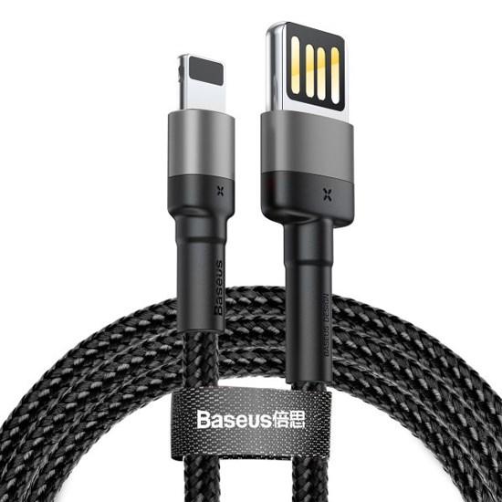 Изображение Baseus Cafule Series Cable Special Edition Lightning 2m CALKLF-HG1 grey/black