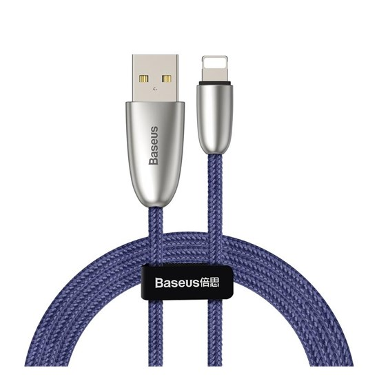 Baseus Torch Series USB Data Cable With Charging Indicator Lightning 1m CALHJ-C blue