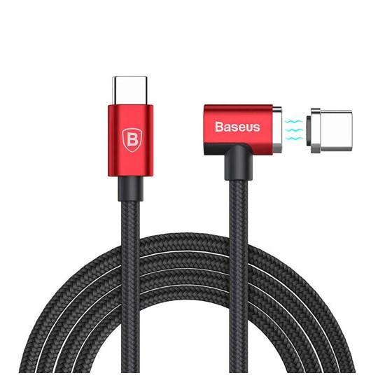 Изображение Baseus Magnet Cable Type-C 1.5m CATBL-91 black/red