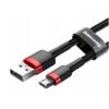 Baseus Cafule Cable Micro USB 2A 3m CAMKLF-H Black/Red