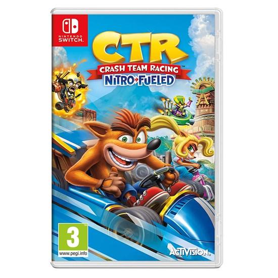 Crash Team Racing Nitro Fueled Game for Nintendo Switch