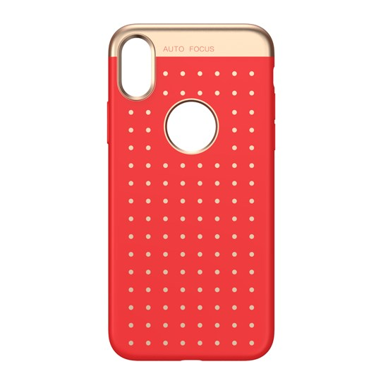 Baseus Twinkling Star Case Apple iPhone X WIAPIPHX-ST09 red