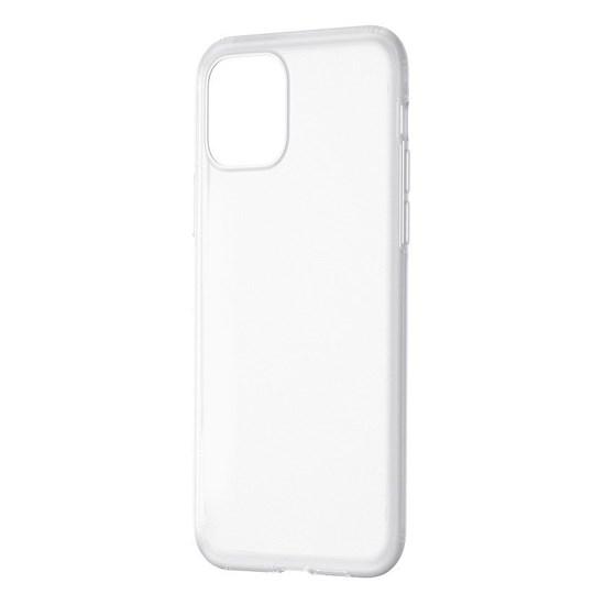 Изображение Baseus Jelly Liquid Silica Gel Protective Case Apple Iphone 11 WIAPIPH61S-GDwhite