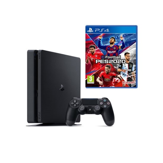 Sony PlayStation PS4 1TB Slim Bundle PES 2020