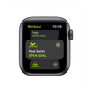 Apple Watch Series SE GPS MYDP2 40mm Space Gray Aluminum Case With Black Sport Band