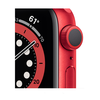 Изображение Apple Watch Series 6 GPS MOOM3 44mm Red Aluminum Case With Red Sport Band