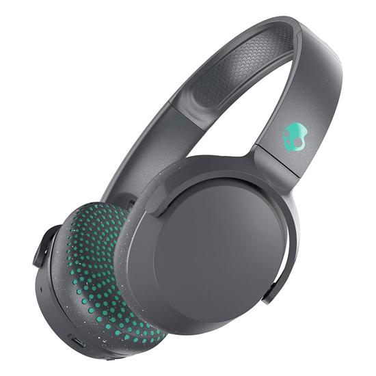Skullcandy Riff Wireless Headphones Grey/Green