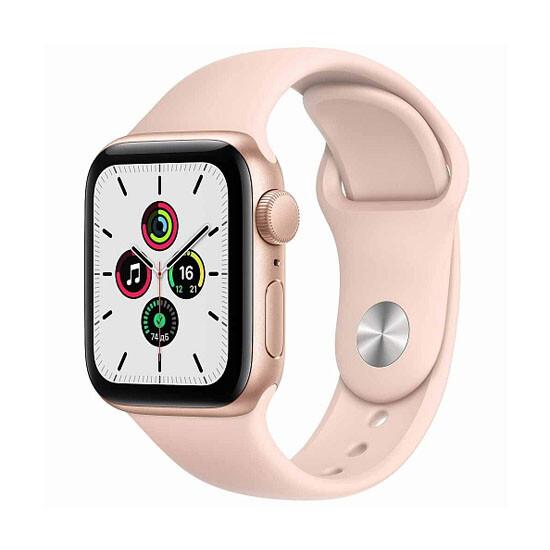 Изображение Apple Watch Series SE GPS 40mm Gold Aliminium Case Pink Sand Sport Band MYDN2