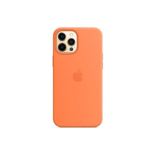Изображение Apple iPhone 12 Pro Max Silicone Case with Magsafe Kumquat