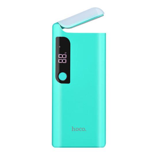 Hoco Power Bank 15000mAh Pusi Mobile Table Lamp B27 Blue